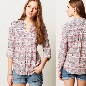 Maeve Anthropologie islet button down
